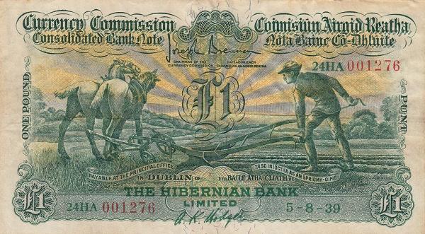 Otkup irskih novčanica